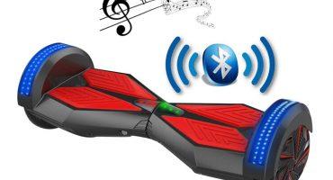 hoverboard cu bluetooth